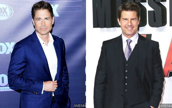 Rob Lowe Recalls Tom Cruise Throwing a Fit for Being Placed in Same Hotel Room With Him