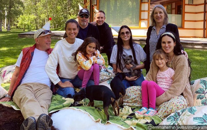 Bruce Willis' Wife Emma Heming Enjoys Picnic With Demi Moore for 42nd Birthday Celebration