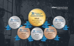 Allen Interactions and Clients Garner 6 Brandon Hall Group HCM Excellence in Learning Awards